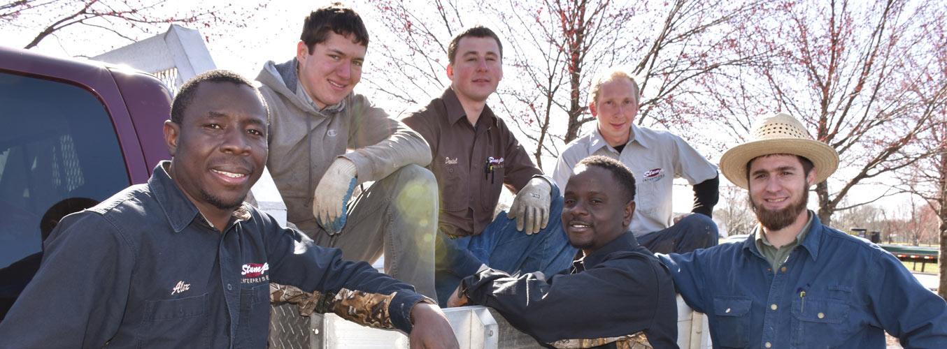 Stump Metal Roofing Crew