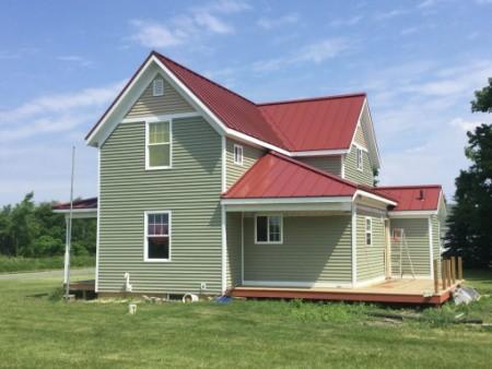 Custom trim on old farm house structures.